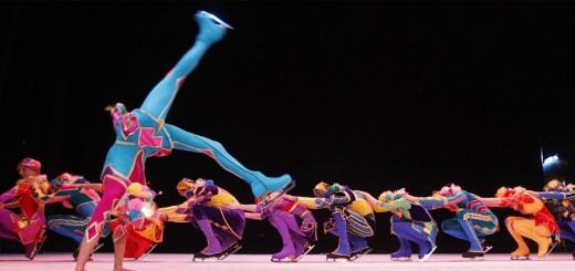 Circo sobre hielo de Moscú, arte y elegancia sobre le escenario