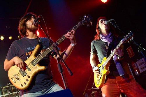 La banda SonDeNadie en directo