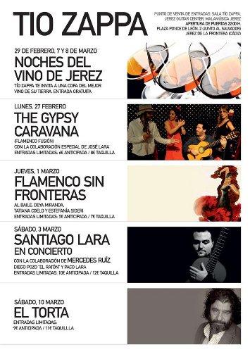 Festival Flamenco en Tío Zappa