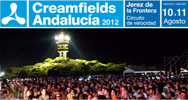Creamfields Andalucía 2012