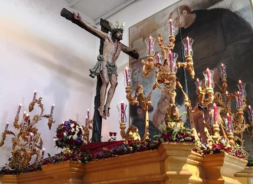 El Cristo de la Sed abrirá el Lunes Santo en Jerez