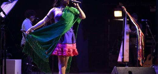 Lila Downs, en el Gran Teatro Falla