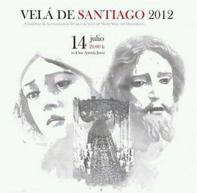 Cartel de la Velá de Santiago 2012