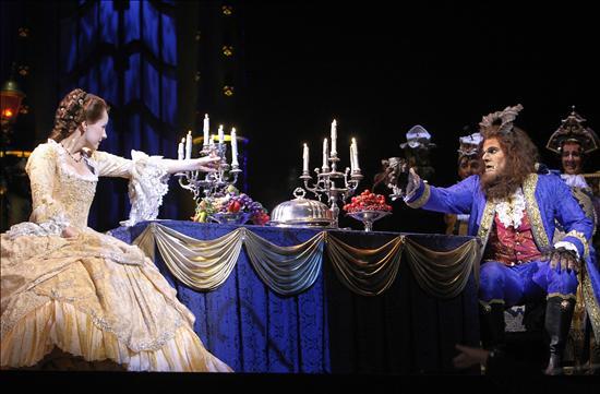 Imágenes del musical de La Bella y La Bestia