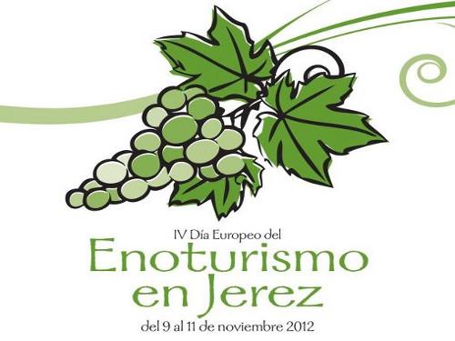 Cartel del IV Día Europeo del Enoturismo en Jerez
