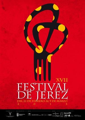 Cartel del XVII Festival de Jerez