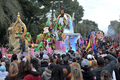 Cabalgata de los Reyes Magos en Jerez