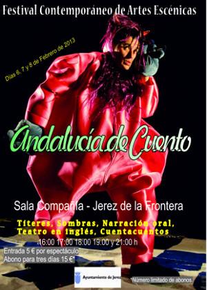 "Primer festival de artes escénicas ""Andalucía de Cuento"""