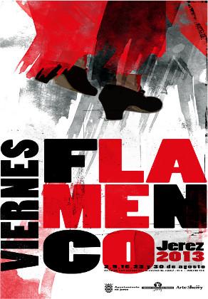Cartel de los Viernes Flamenco 2013