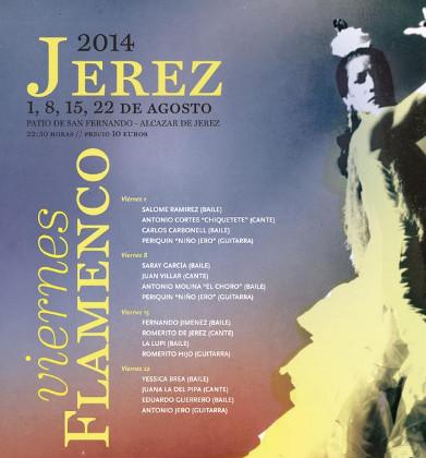 Cartel de los Viernes Flamenco 2014