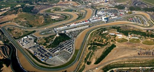 Vista aérea del Circuito de Jerez