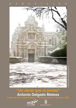 La exposición Un Jerez que ni Pintao se podrá ver durante febrero en el Alcázar