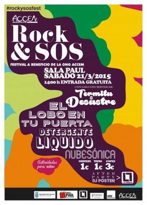Festival Rock y Sos, en la Sala Paúl