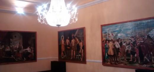 """Detalle de la exposición """"Homenaje a Velázquez"""", en el Alcázar"""