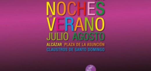 Cartel del ciclo de conciertos Noches de Verano en Jerez 2015