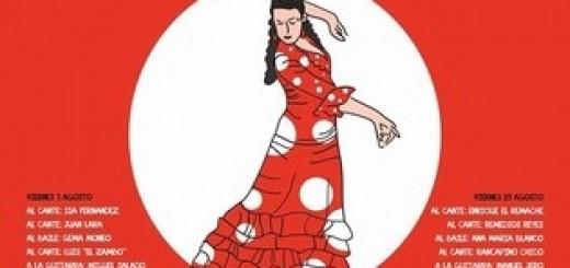 Cartel de los Viernes Flamenco 2015 en Jerez