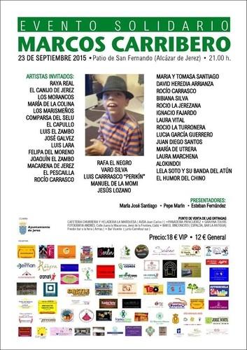 El 23 de septiembre se celebra un evento solidario para ayudar a Marcos Carribero