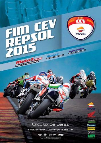 El FIM CEV cierra la temporada 2015 en el Circuito de Jerez