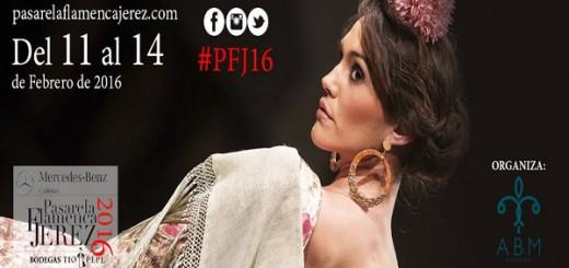 Cartel de la edición de Pasarela Flamenca 2016