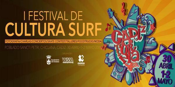 Cadizfornia, festival de cultura surf que se celebrará en Chiclana