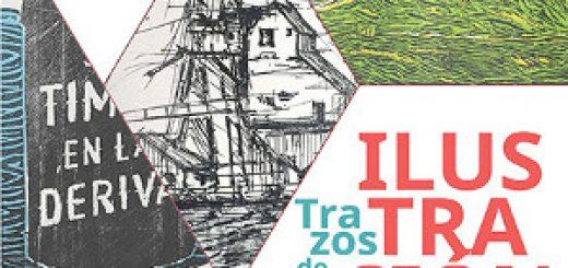 Cartel de la exposición Trazos de la Ilustración