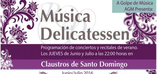 Tercera edición del ciclo Música Delicatessen en Jerez