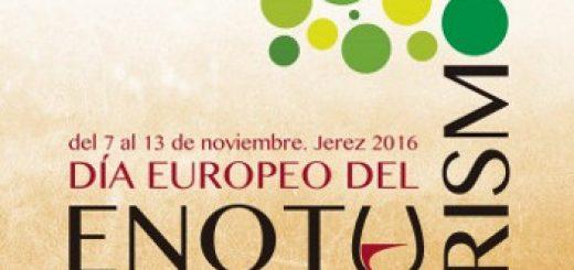 Cartel del Día del Enoturismo 2016 en Jerez