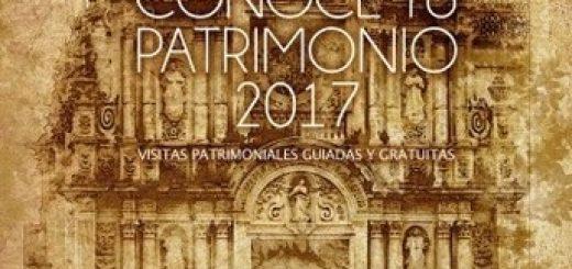Cartel de la edición de 2017 de Conoce tu Patrimonio, visitas guiadas y gratuitas en Jerez