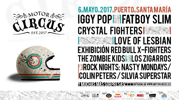Motor Circus 2017, festival en El Puerto