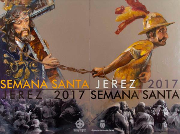 Cartel de la Semana Santa 2017 en Jerez