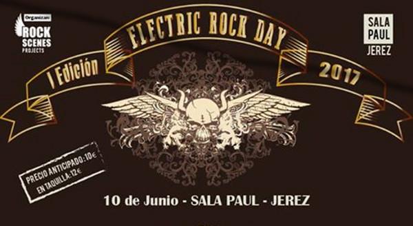 Electric Rock Day, festival en la Sala Paúl