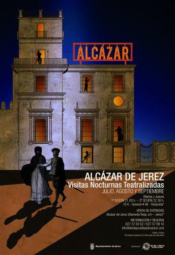 Visitas teatralizadas al Alcázar de Jerez