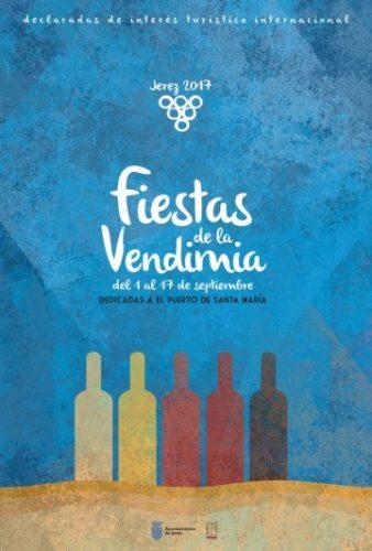 Cartel de las Fiestas de la Vendimia 2017