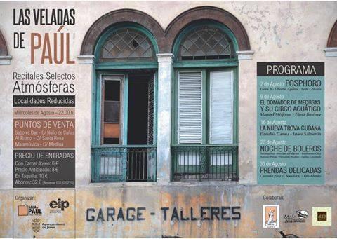 Las Veladas de Paúl, otro ciclo de conciertos en Jerez