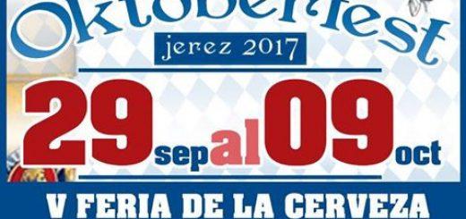 Oktoberfest 2017 en Plaza Canterbury, vive la fiesta de la cerveza en Jerez