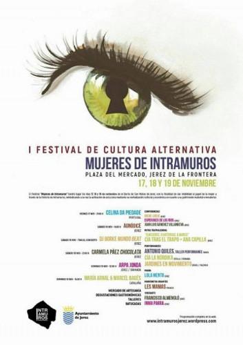 Programa de la primera edición del Festival Mujeres de Intramuros