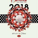 Cartel de Pasarela Flamenca 2018, del 8 al 11 de febrero