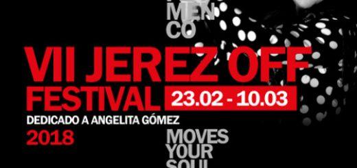 Cartel del VII Festival Jerez OFF