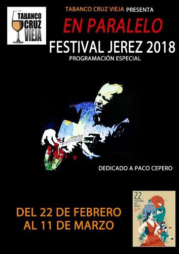 El Festival En Paralelo 2018 se desarrollará en el Tabanco Cruz Vieja