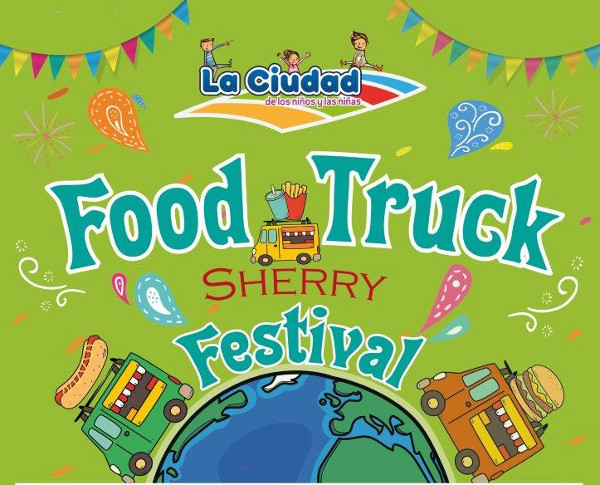 Cartel de la primera edición del Food Truck Sherry Festival