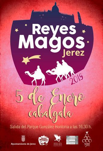 Cabalgata de Reyes Magos 2019 en Jerez