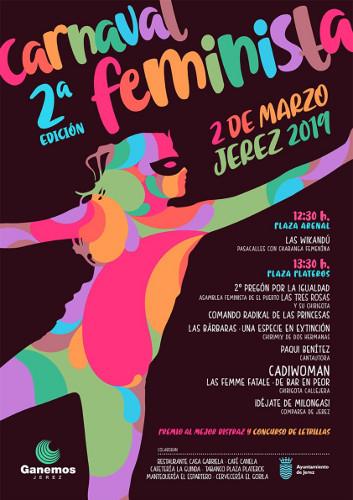 Segunda edición del Carnaval Feminista en Jerez
