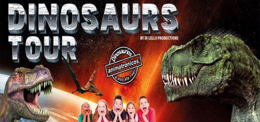 Dinosaurs Tour llega a Jerez de la Frontera este fin de semana