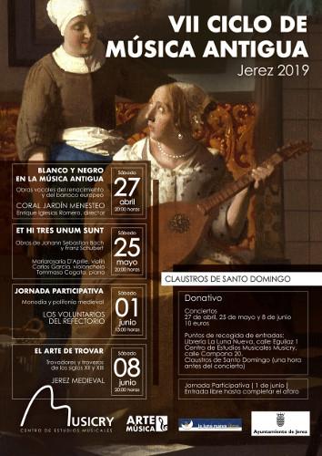 VII Ciclo de Música Antigua en los Claustros de Santo Domingo