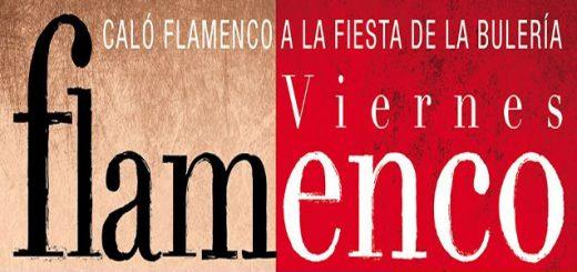 Cartel de los Viernes Flamenco 2019