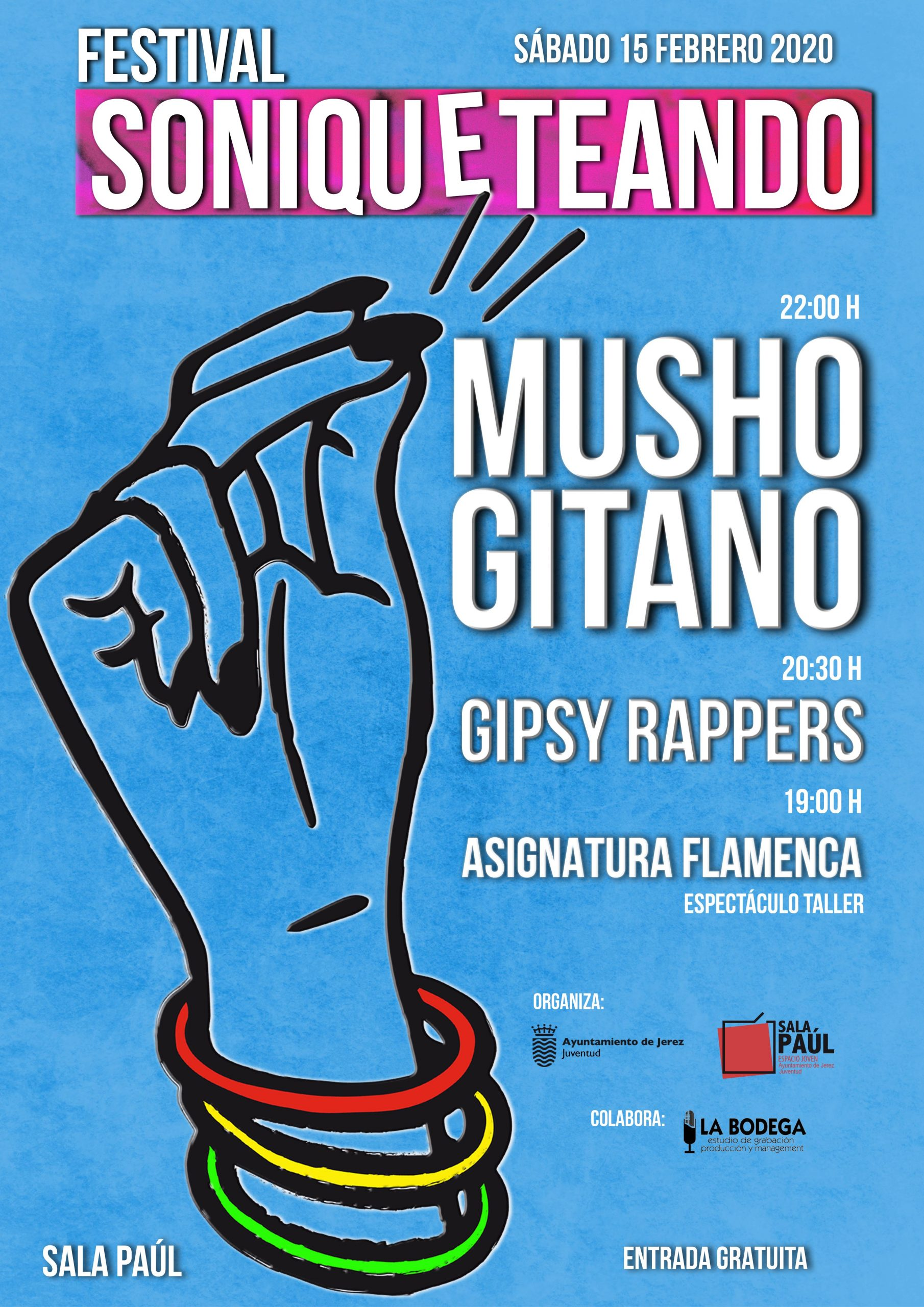 Festival Soniqueteando, el sábado 15 en la Sala Paúl