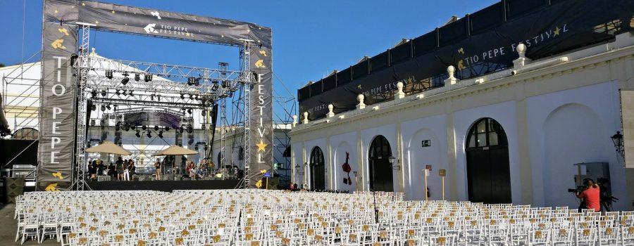 Tío Pepe Festival es uno de los eventos del verano en Jerez