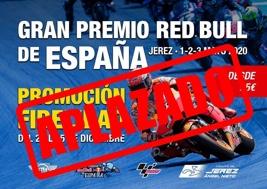 El Gp de Jerez 2020 queda aplazado sin nueva fecha a la vista