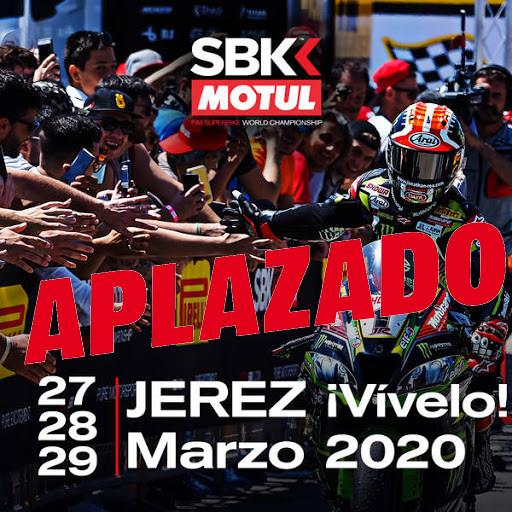 Las Superbikes en Jerez quedan aplazadas