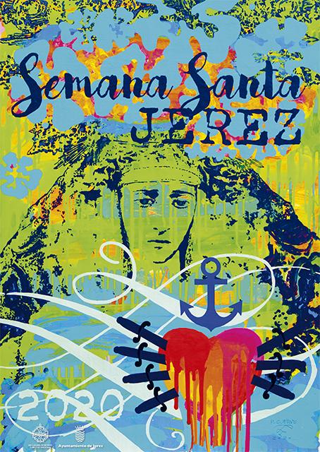 Cartel de la Semana Santa 2020 de Jerez